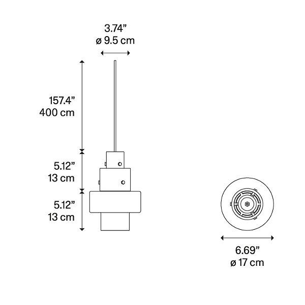 Gask 3-Light Pendant