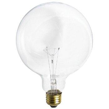 150W 120V G40 E26 Clear Bulb 2-Pack