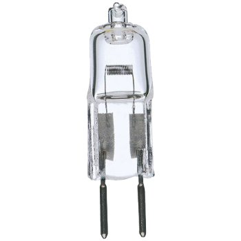 50W 12V T4 GY6.35 Halogen Clear Bulb 2-Pack