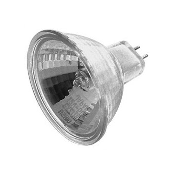 50W 12V MR16 GU5.3 Eurostar Clear NFL Bulb 2-Pack