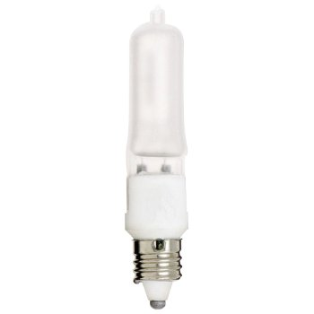 50W 120V T4 E11 Xenon Frosted Bulb 2-Pack