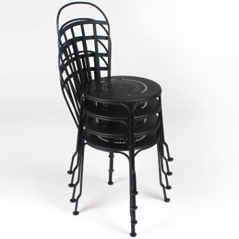 Louvre Stacking Chair Set of 2