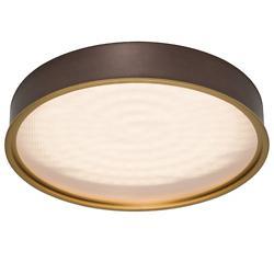 Pan Round LED Flushmount
