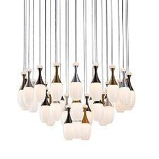 La Botella LED Round Multi-Light Pendant