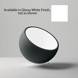 Biluna Floor Lamp by Prandina (Glossy White)-OPEN BOX RETURN