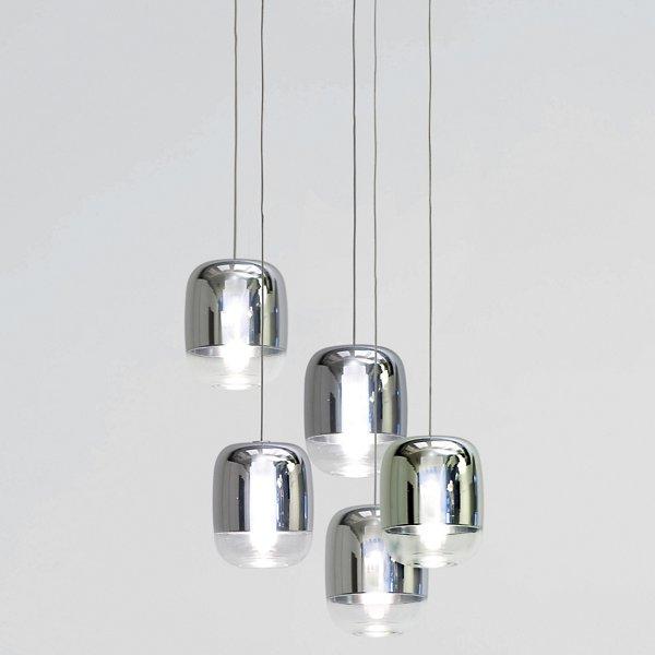 Gong Mini Multi-Light Pendant