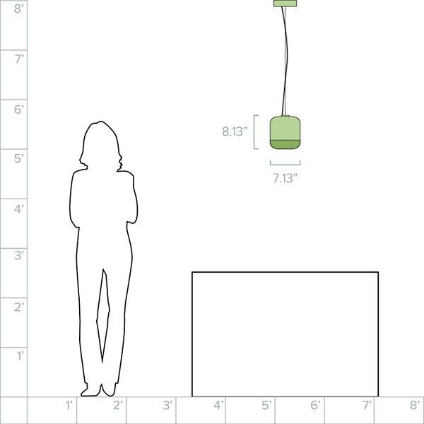 Gong S1 LED Pendant