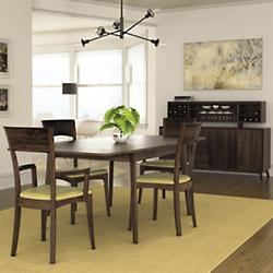 contemporary square dining table dark wood catalina dining collection modern square tables room at lumenscom
