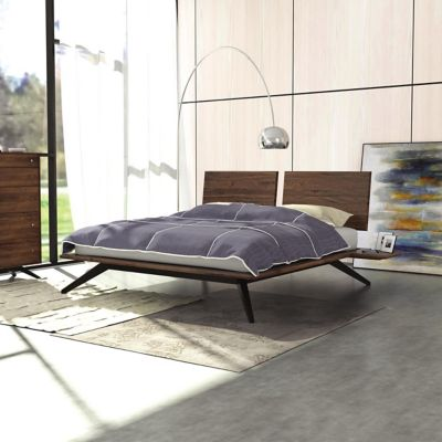 Modern Bed Frames Contemporary Bedroom Bed Frames at Lumenscom