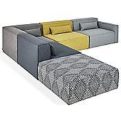 Mix Modular 5 Piece Sectional Sofa