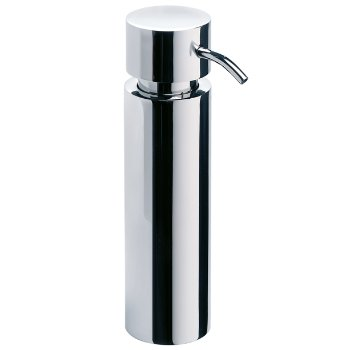 DUO Soap Dispenser in Polished finish