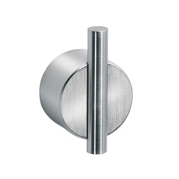DUO Wall Hook in Satin finish