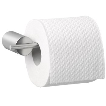 DUO Toilet Paper Holder in Satin finish