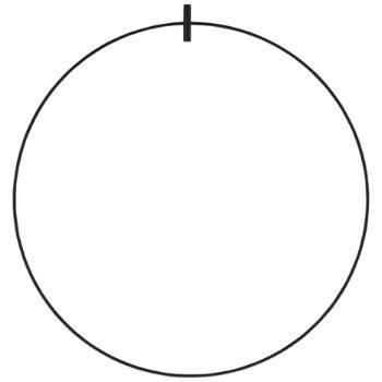 Locus Accessory shown in Black finish, 23 Inch
