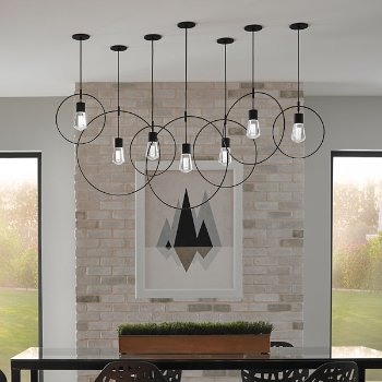 Locus with Alva LED Pendant