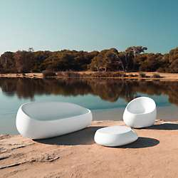 Outdoor Lounge Seating Modern Patio