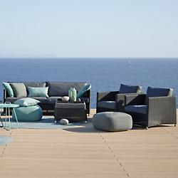 Diamond Weave Outdoor Lounging Collection
