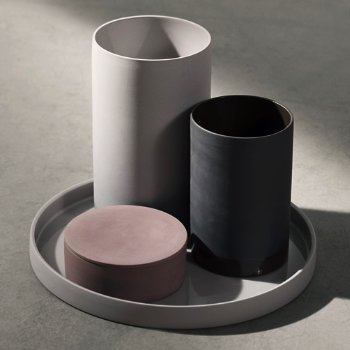 Cylindrical Tabletop Collection