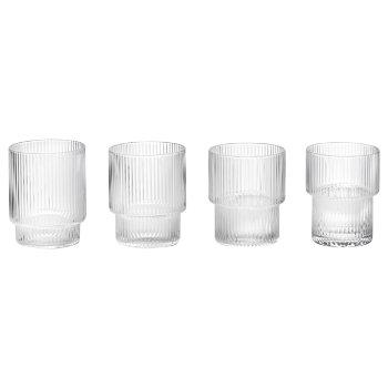 Ripple Glass Set of 4