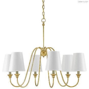 Shown in Antique Gold Leaf, with optional shades