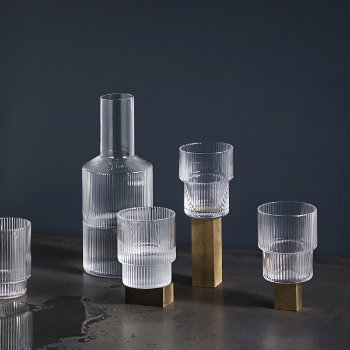 Ripple Carafe and Glass Collection
