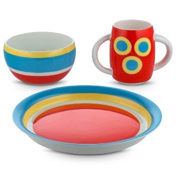 Alessini Con-centrici Childrens Tableware Set