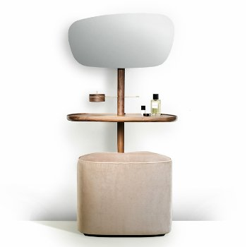 Tocador Vanity Table and Pouf
