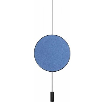 Revolta Pendant with Acoustic Panel