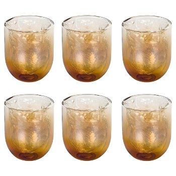 Cosmic Diner Meteorite Glasses Set of 6