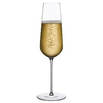 Stem Zero Flute Champagne Glass