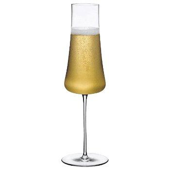 Stem Zero Volcano Champagne Glass