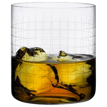 Finesse Grid Whisky SOF Glass