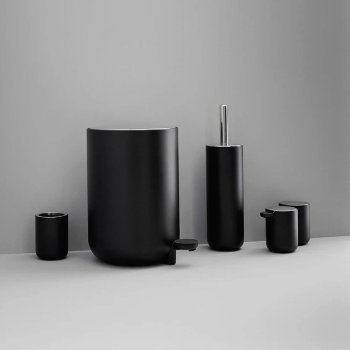 Shown in Black finish, collection
