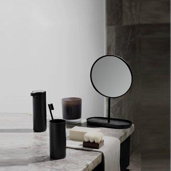 Shown in Black finish, in use