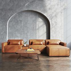 Mix Modular Sectional Sofa Collection - Vegan Appleskin