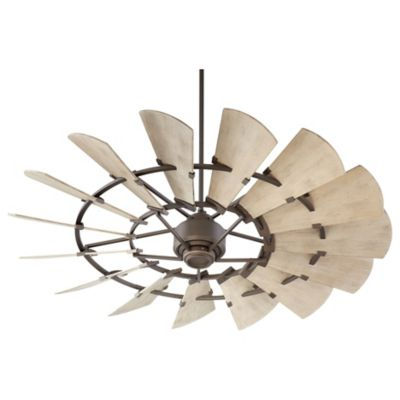 Windmill Damp Rated Ceiling Fan By Quorum International At Lumens.com