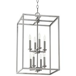 Cuboid 2-Tier Chandelier
