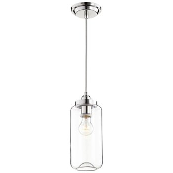 Shown lit in Polished Nickel finish, Small size