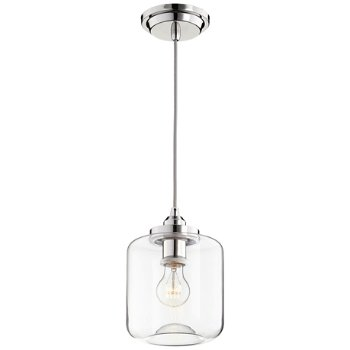 Shown lit in Polished Nickel finish, Large size