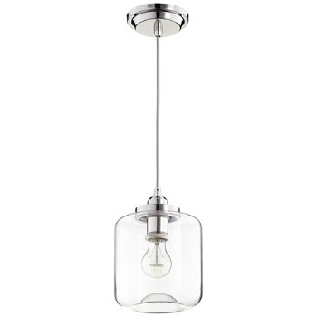 Shown unlit in Polished Nickel finish, Large size