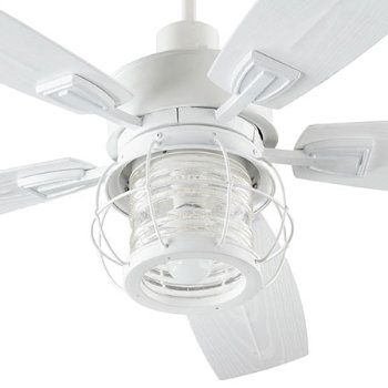 Shown in Studio White with White ABS Blades