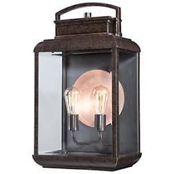 Byron Outdoor 2 Light Wall Sconce