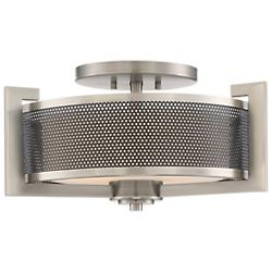Metropolis Semi Flush Mount