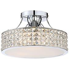 Platinum Collection Alexa Semi Flushmount Light