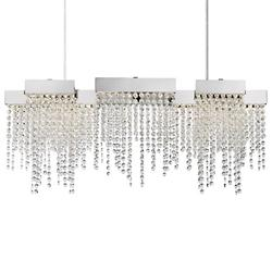 Crystal Falls LED Linear Suspension