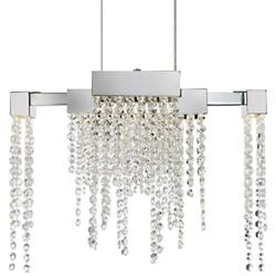 Crystal Falls LED Chandelier