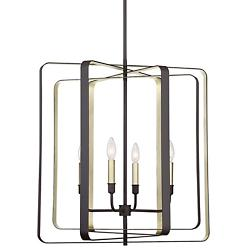 Cycle 4-Light Chandelier