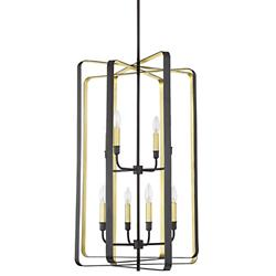 Cycle 8-Light Chandelier
