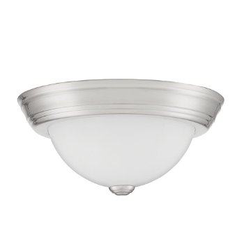 Shown in Brushed Nickel finish, Small size, unlit