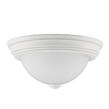 Shown in White Lustre finish, Small size, unlit